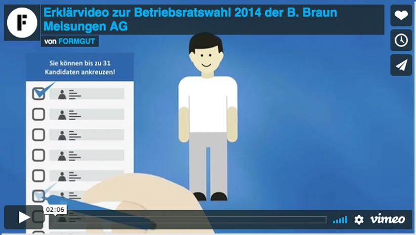 Erklaerfilm B Braun Melsungen AG Betriebsrat