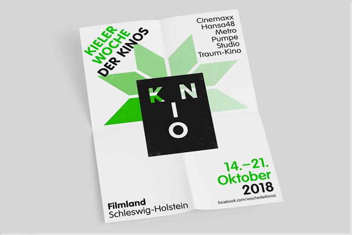 Kieler Woche der Kinos Plakat 2018