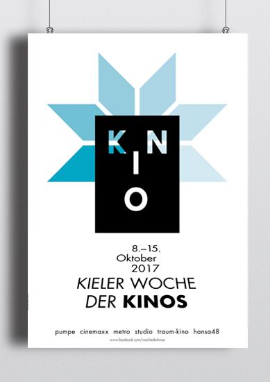 Kinowoche Kiel 2017 Plakat