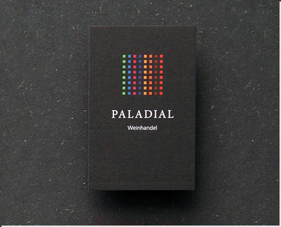Neues Corporate Design Paladial Weinhandel Kiel