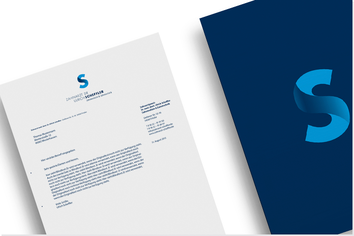 Neues Corporate Design  Briefpapier