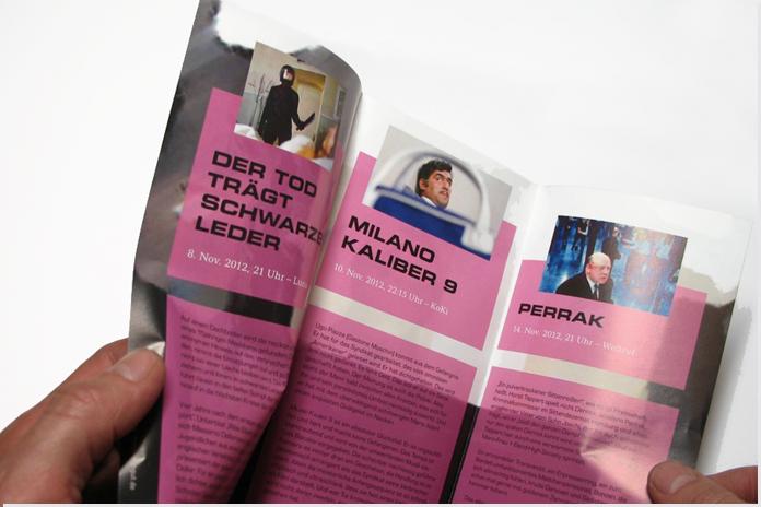 Verbotenes Lichtspiel 2012 – Flyer
