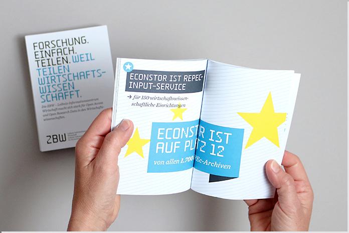ZBW-Booklet zur Imagekampagne 2015