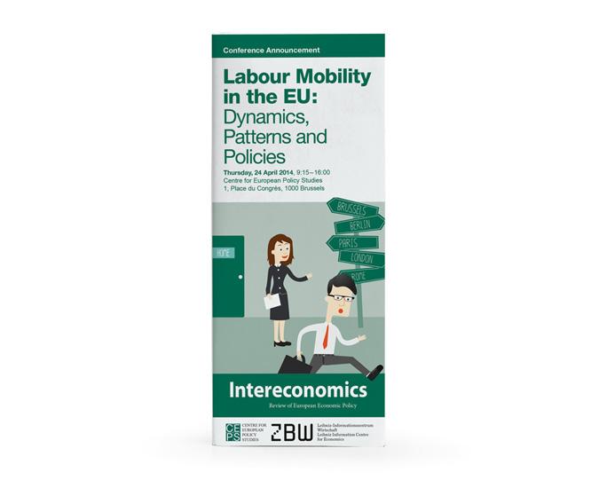 Illustration Labour Mobility in the EU / Arbeitsmigration / Freizügigkeit in der EU
